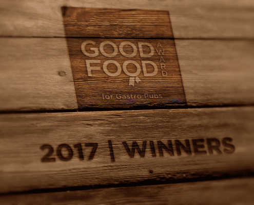 Good Food Award for Gastro Pubs